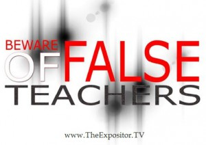 Beware of false teachers