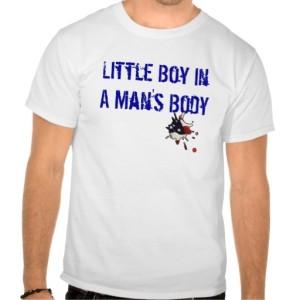 A boy in a mans body