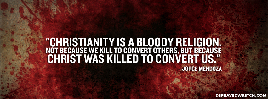 Christianity is a Bloody-Religion timeline
