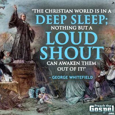 George Whitefield a Loud Shout