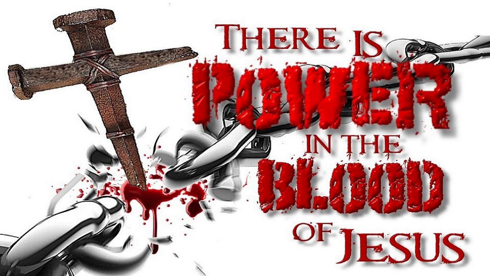 There is power in His blood