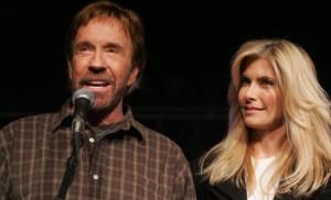Chuck Norris & wife Gena